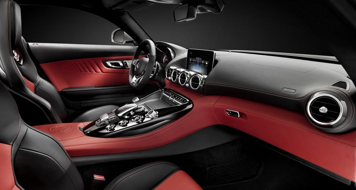 La Mercedes-AMG GT vue de l'intérieur