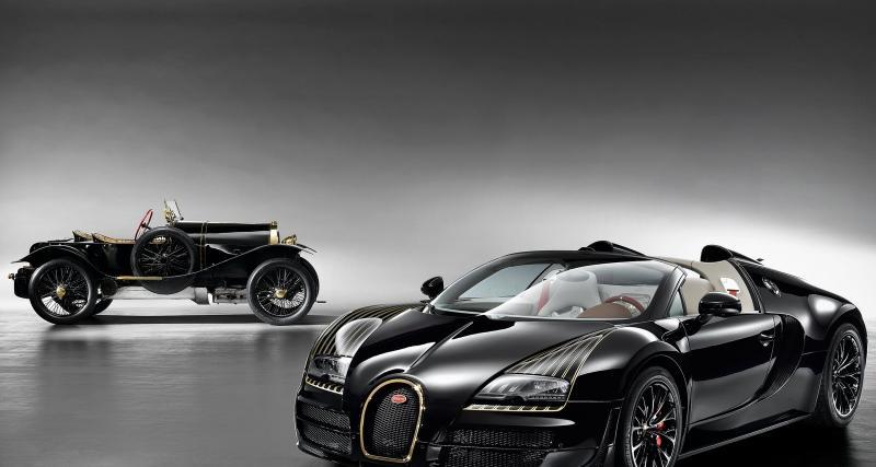 """Bugatti Veyron """"Black Bess"""" : la cinquième des Légendes de Bugatti"""