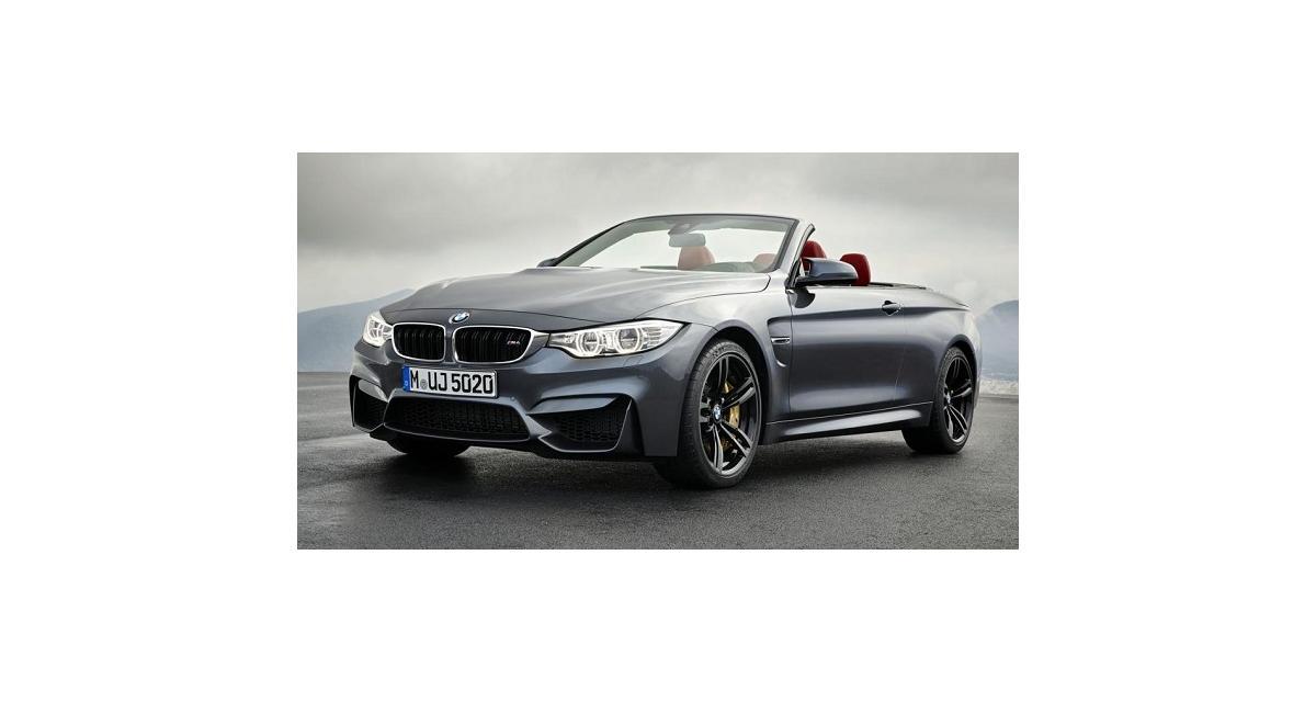 La BMW M4 Cabriolet sera à New York