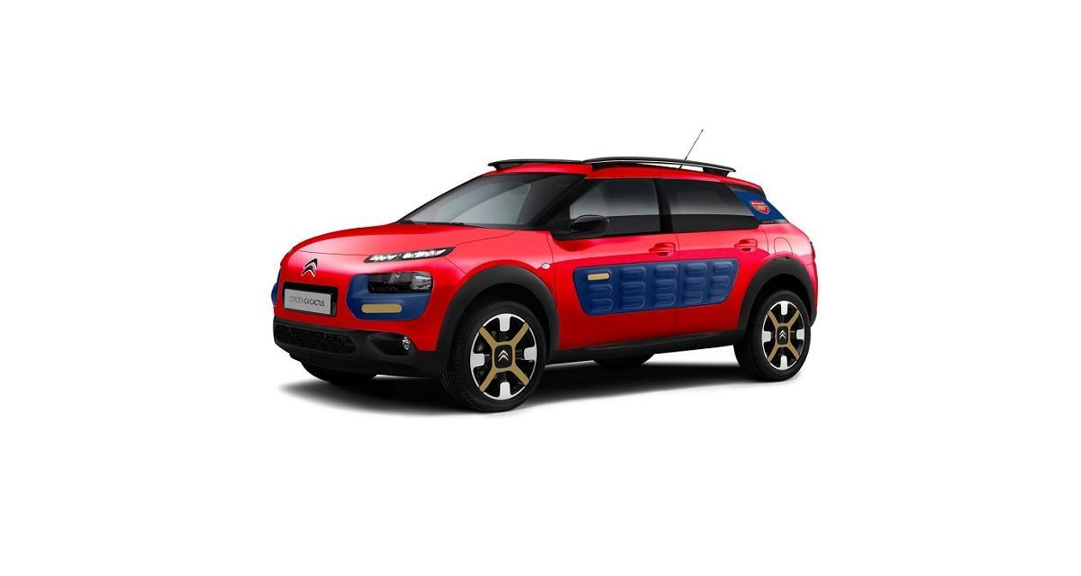 Citroën C4 Cactus Arsenal : pour l'amour du sport