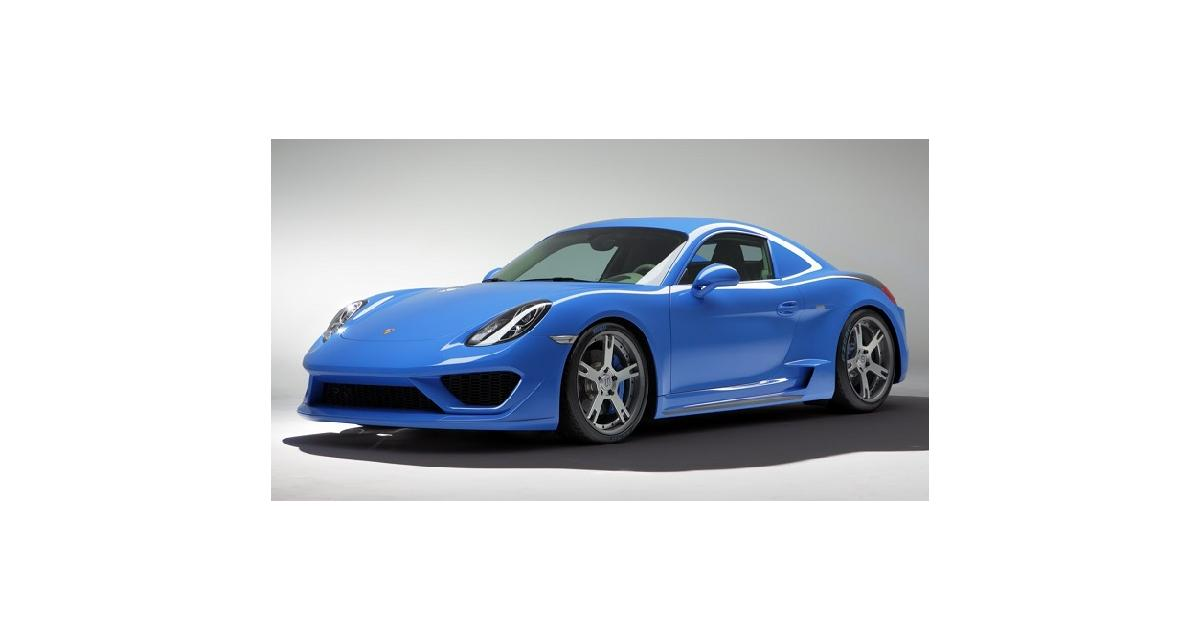 StudioTorino Moncenisio : un Porsche Cayman très exclusif