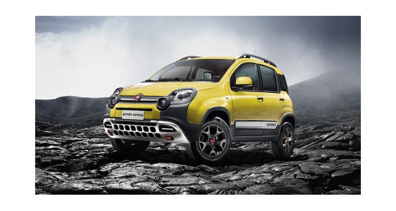 Fiat Panda Cross : nouvelles photos officielles