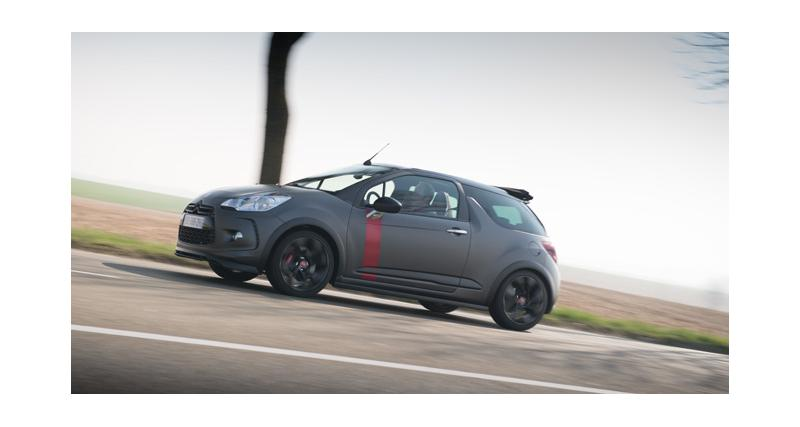 Citroën DS3 Cabrio Racing : le plein de nouvelles photos