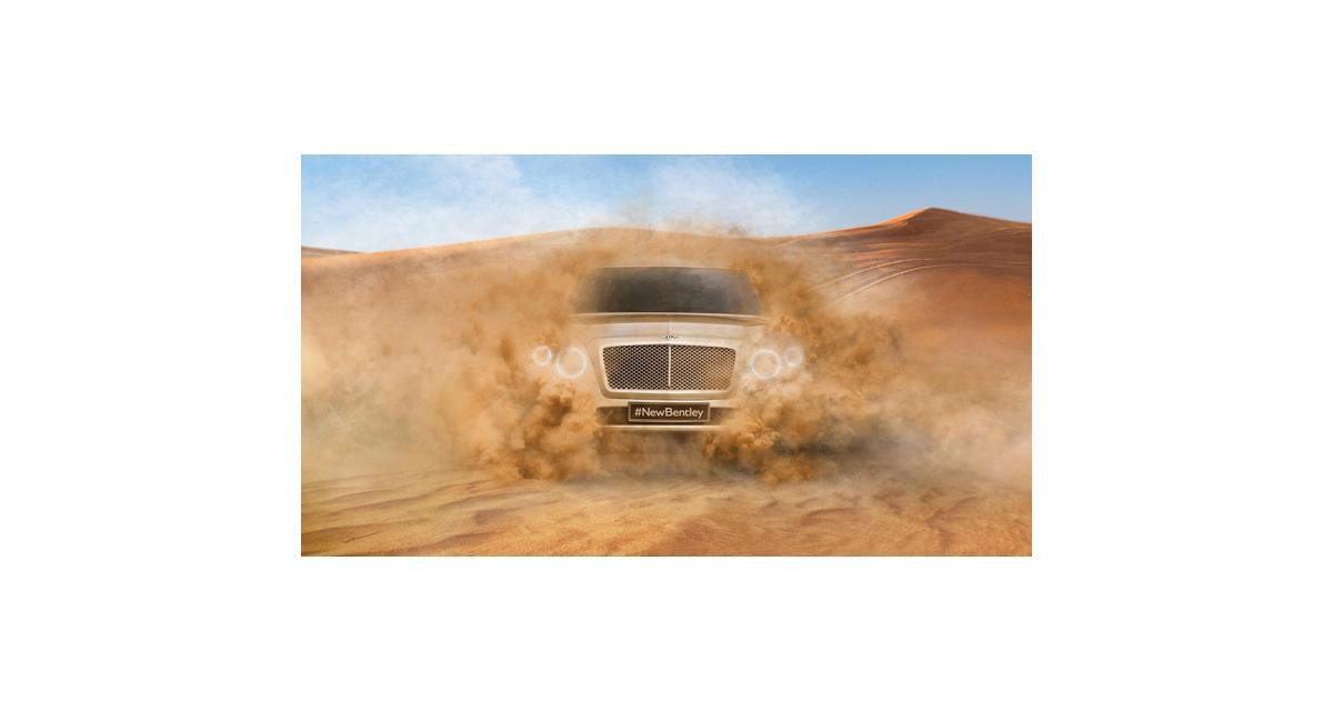 Bentley tease son SUV