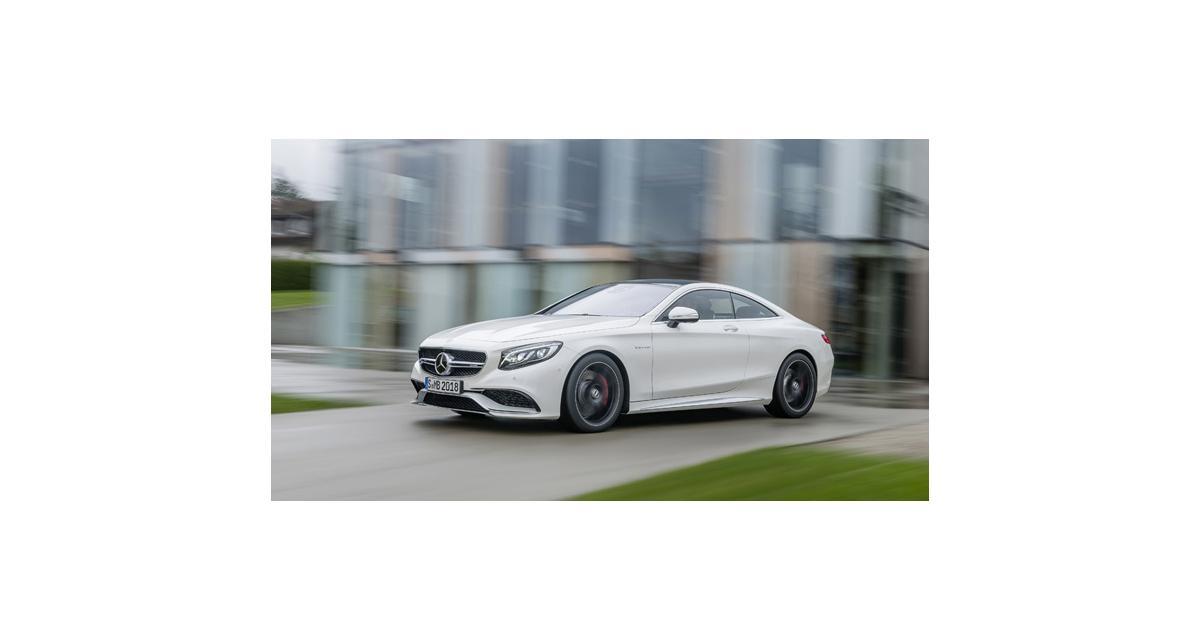 New York 2014 : Mercedes S63 AMG Coupé