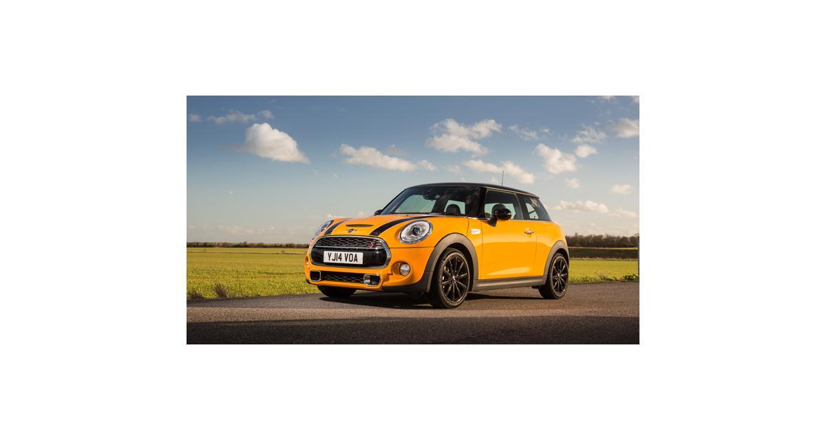 Mini Cooper S : la version anglaise en photos
