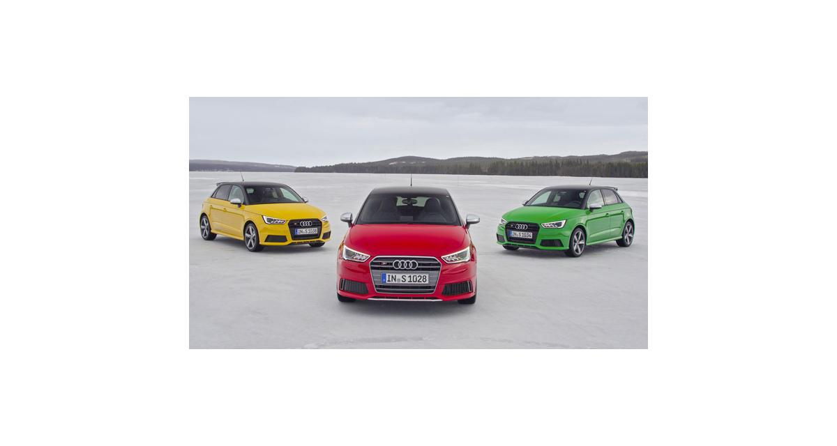 Audi S1 et S1 Sportback : toutes les photos officielles