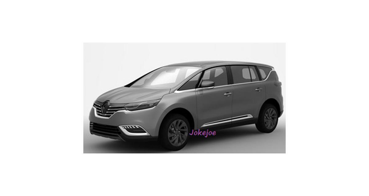 Nouveau Renault Espace : premières images du modèle de série