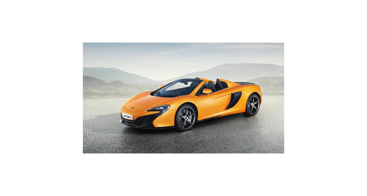 McLaren 650S : toutes les photos du Spider