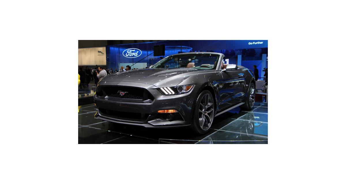 Salon de Genève 2014 : Ford Mustang cabriolet