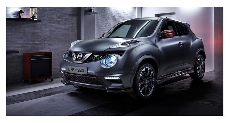 Nissan Juke : le Nismo RS arrive en Europe