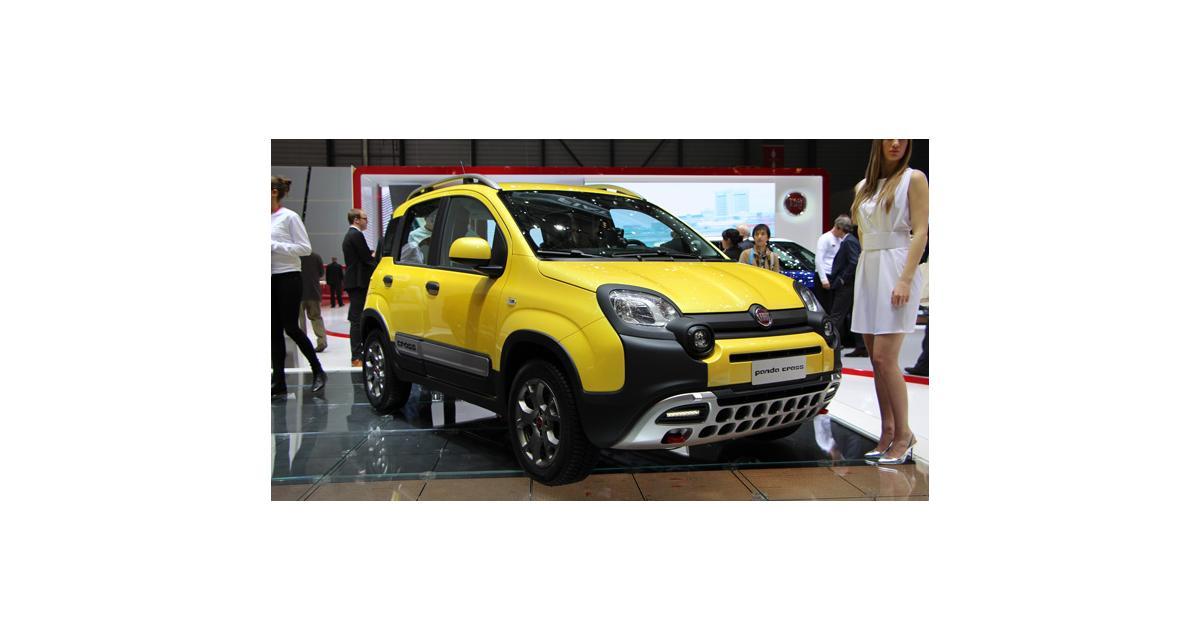 Salon de Genève 2014 : Fiat Panda Cross