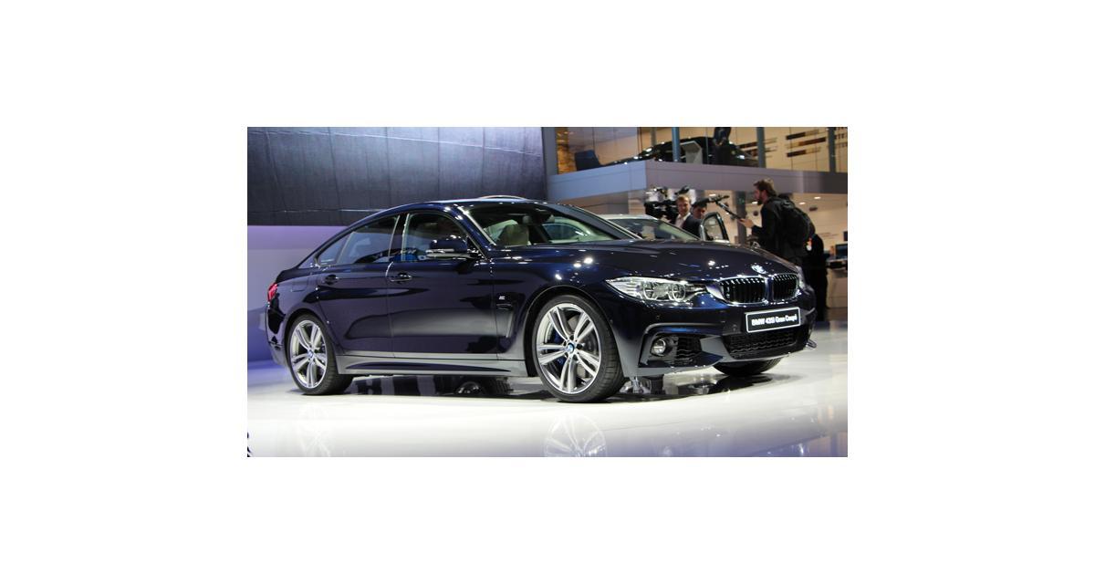 Salon de Genève 2014 : BMW Série 4 Gran Coupé et cabriolet