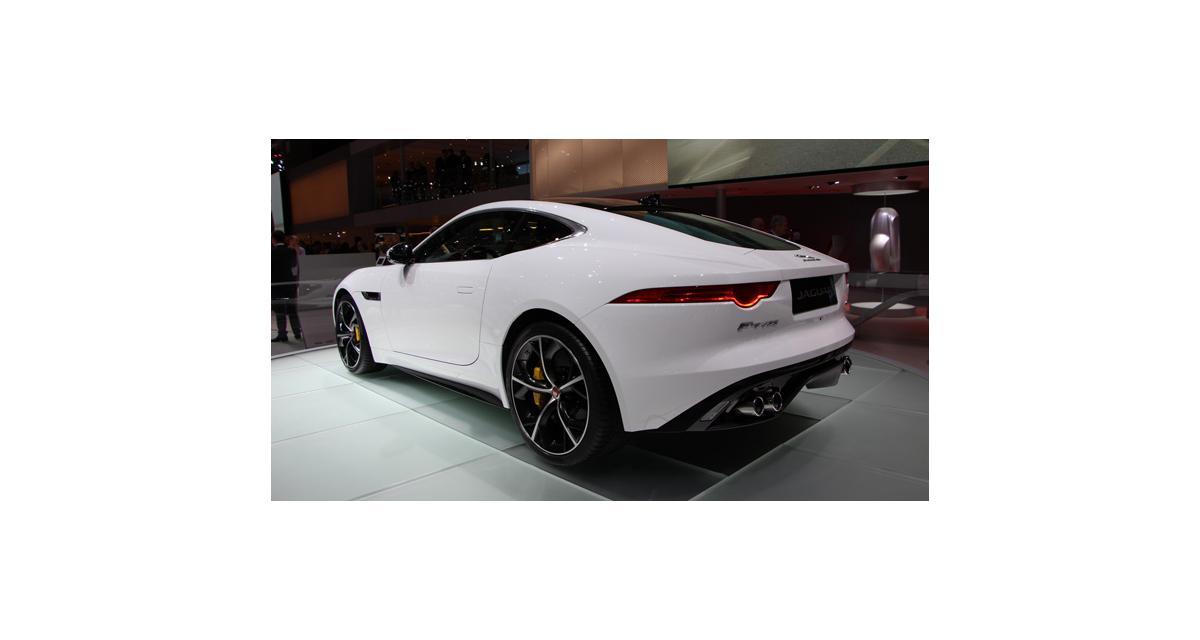 Genève 2014 : Jaguar F-Type Coupé