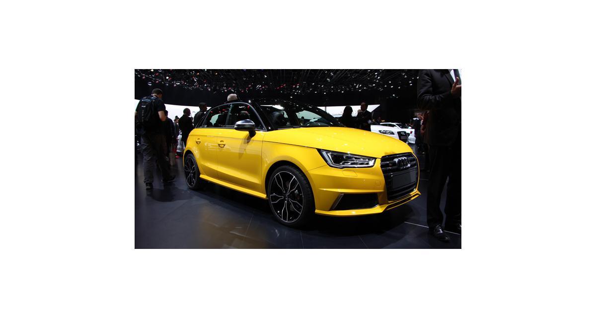 Salon de Genève 2014 : Audi S1