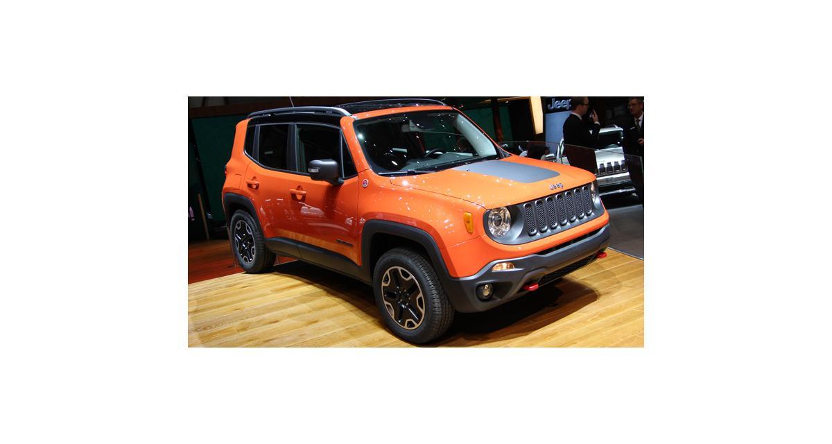 Genève 2014 : le Jeep Renegade à l'assaut du Juke