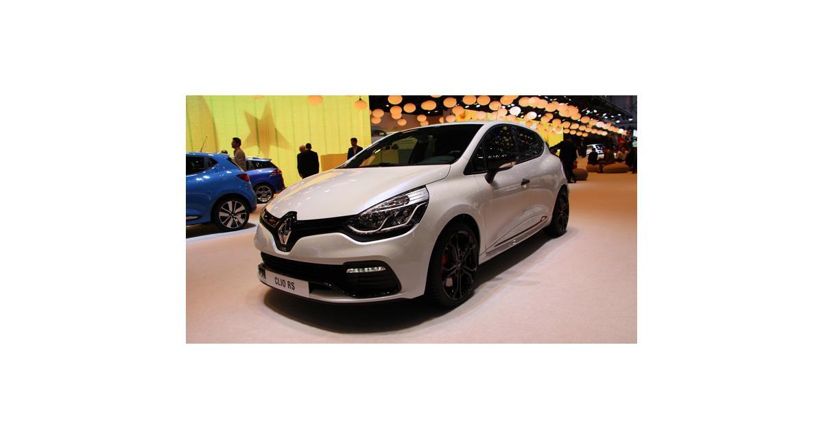 Salon de Genève 2014 : Renault Clio R.S. Monaco GP
