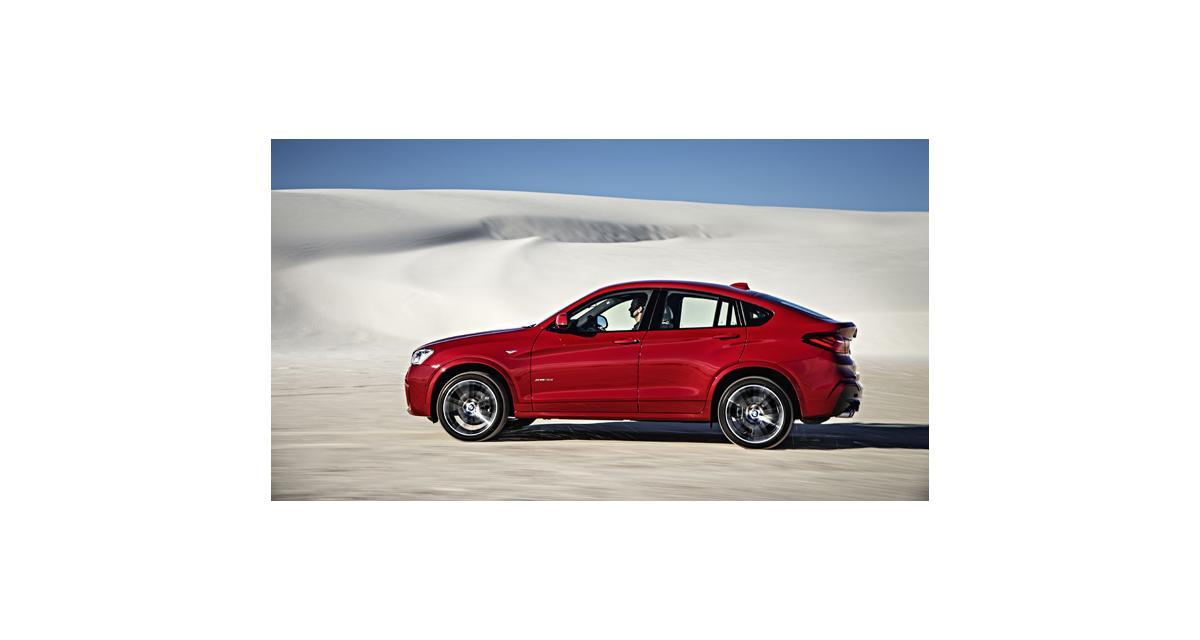 BMW X4 : officiel mais absent de Genève