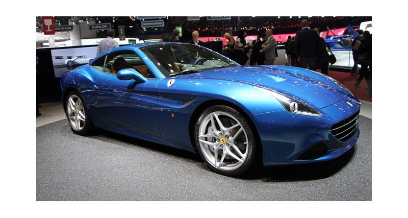 Salon de Genève 2014 : Ferrari California T