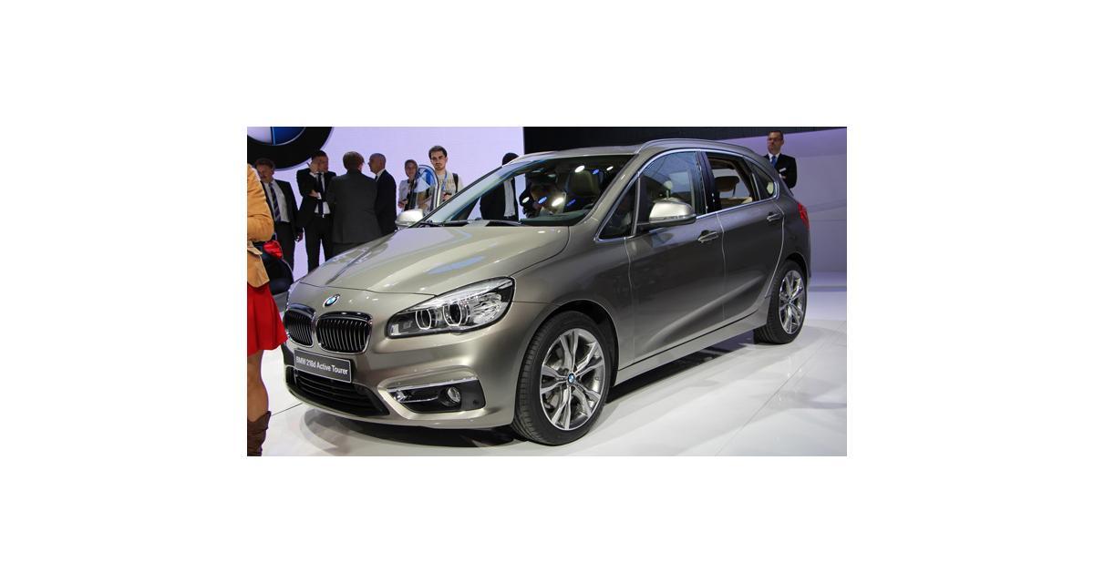 Salon de Genève 2014 : BMW Série 2 Active Tourer