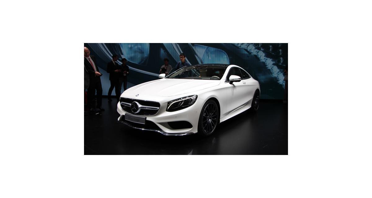 Salon de Genève 2014 : Mercedes Classe S Coupé