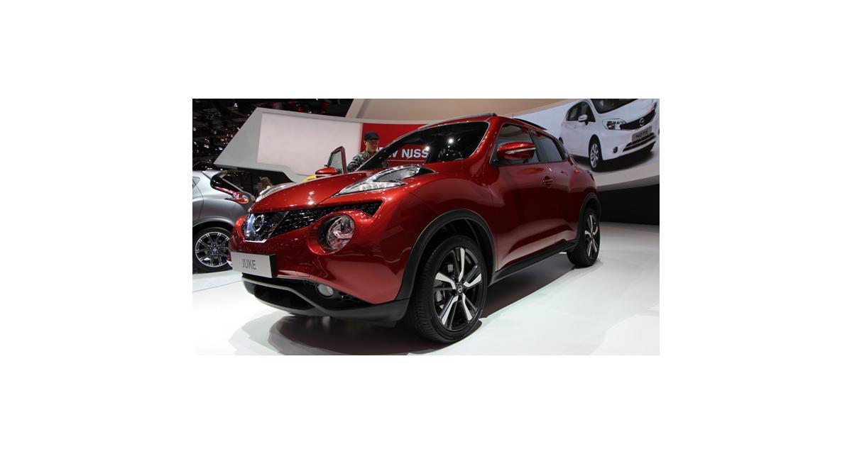 Nissan Juke restylé : toutes nos photos du crossover