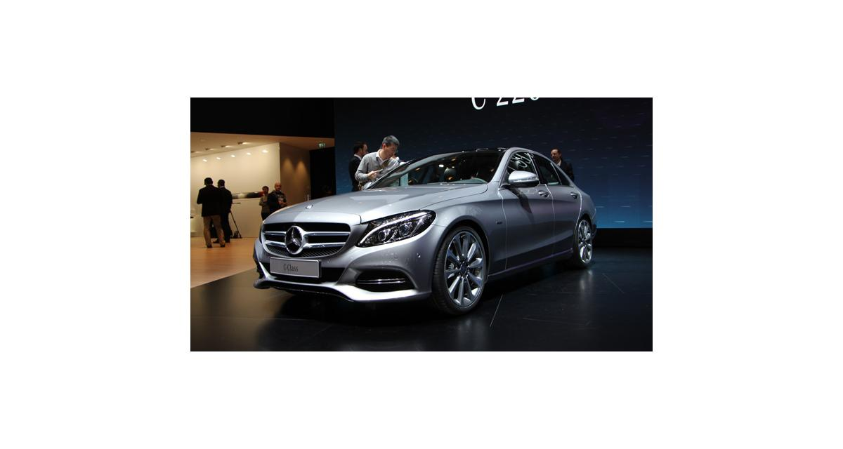 Salon de Genève 2014 : la nouvelle Mercedes Classe C en direct