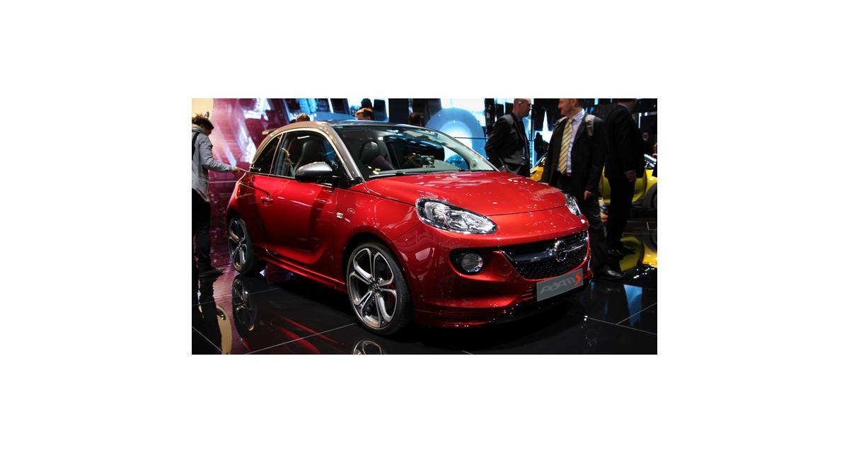 Salon de Genève 2014 : l'Opel Adam S en direct