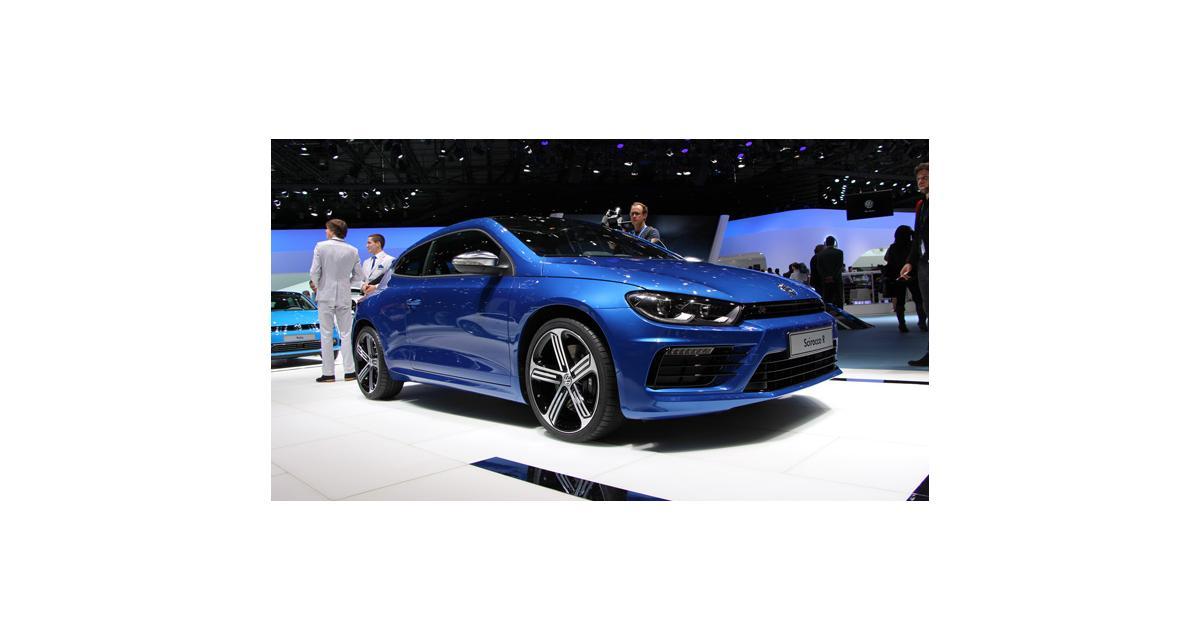 Salon de Genève 2014 : la Volkswagen Scirocco restylée en direct