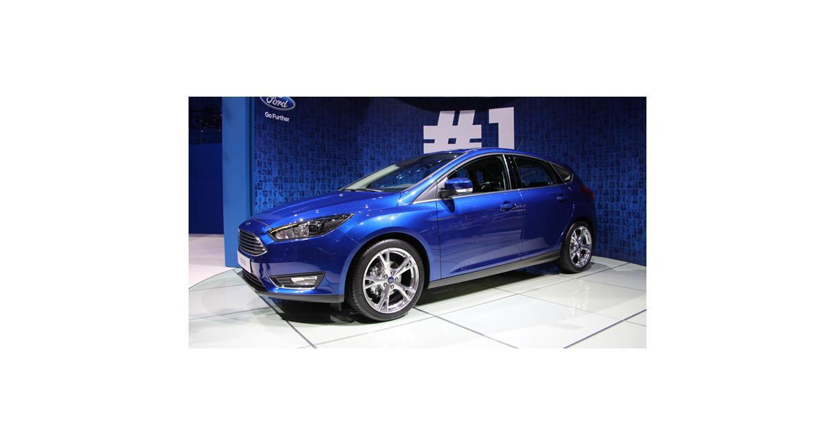 Salon de Genève 2014 : toutes nos photos de la Ford Focus restylée