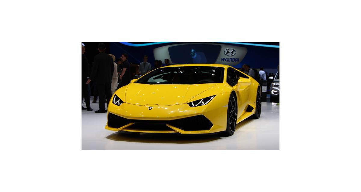 Salon de Genève 2014 : la Lamborghini Huracan en direct