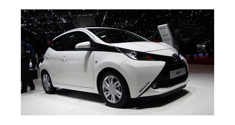 Salon de Genève : les photos de la nouvelle Toyota Aygo