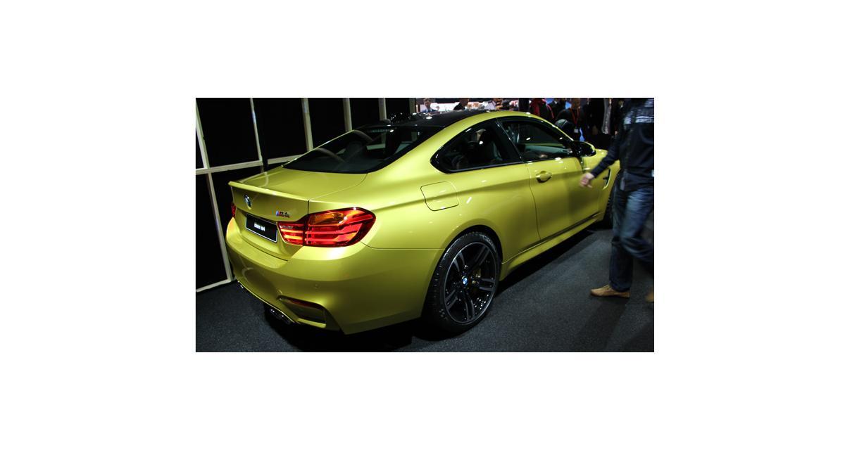 Salon de Genève 2014 en direct : toutes les photos de la BMW M4