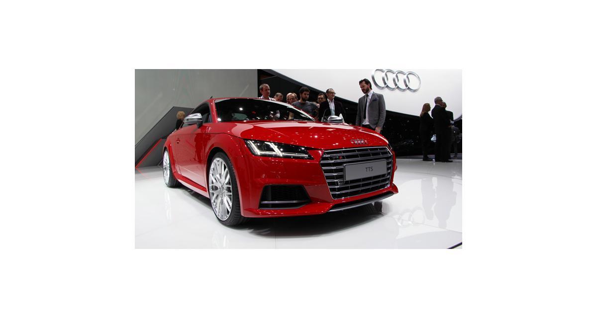 Salon de Genève 2014 : la nouvelle Audi TTS en direct