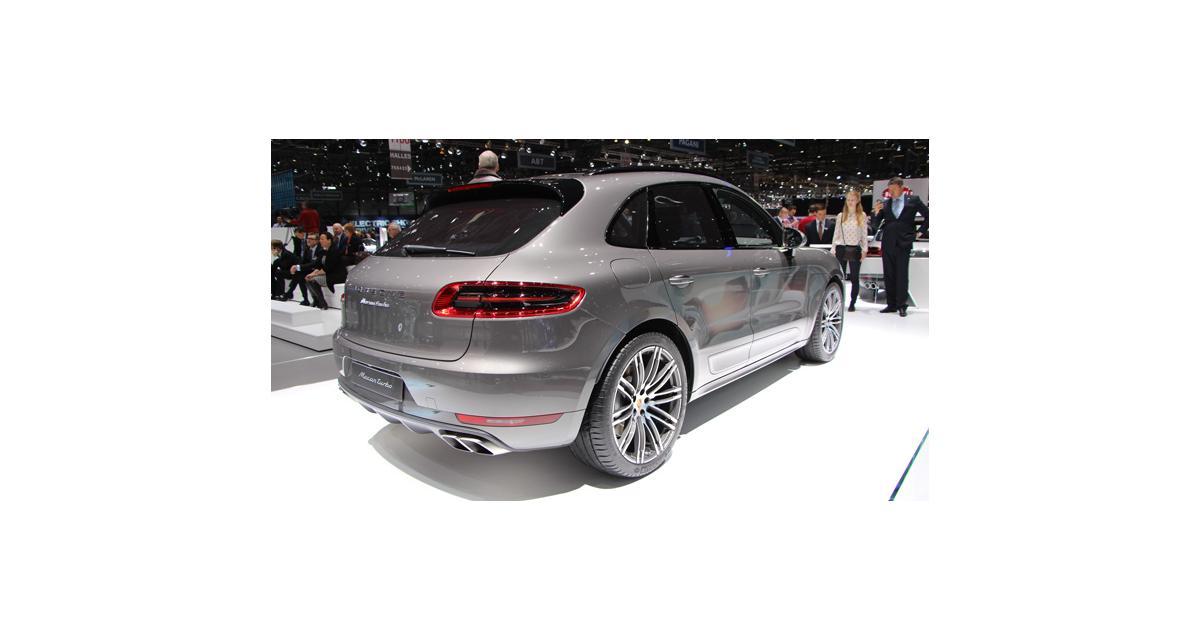 Salon de Genève : Porsche Macan, toutes les photos en direct
