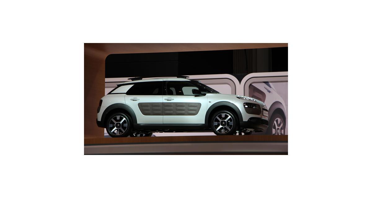 Salon de Genève 2014 : la Citroën C4 Cactus en direct