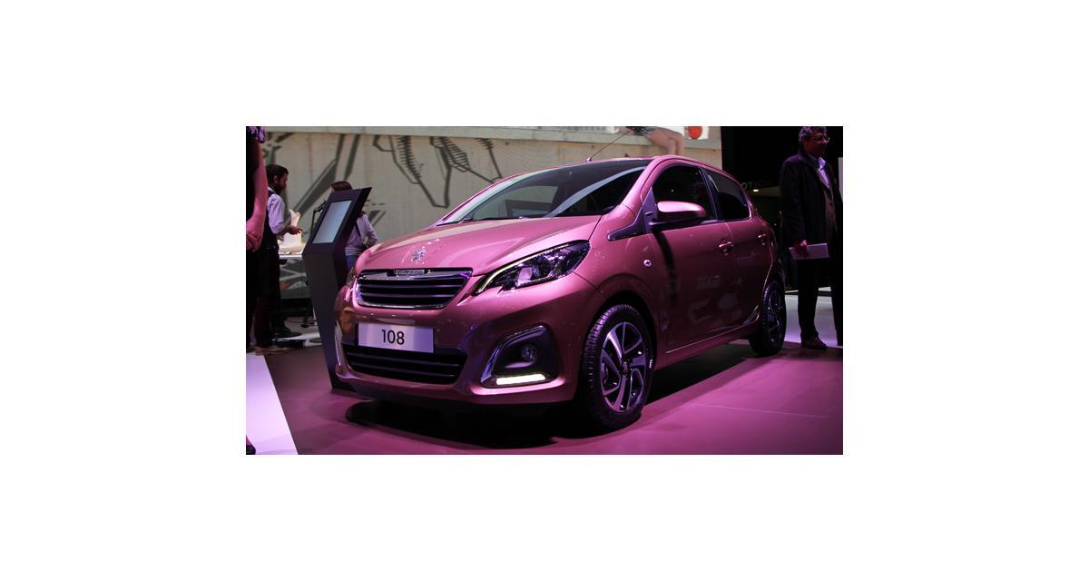 Salon de Genève 2014 : nos photos de la Peugeot 108 en direct