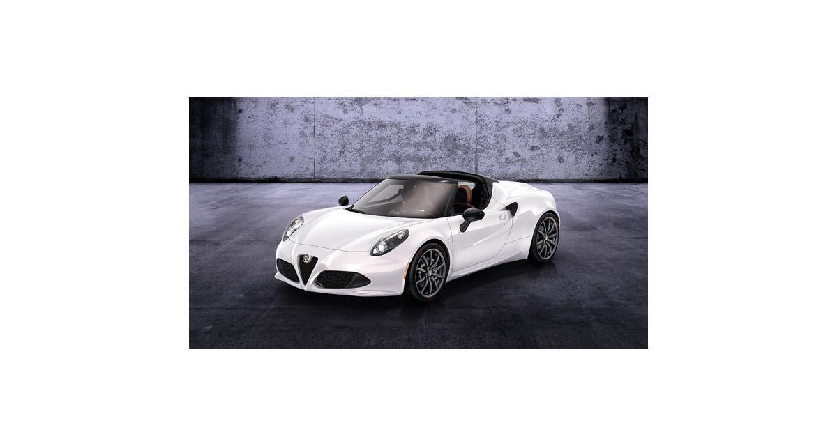 Salon de Genève en direct : Alfa Romeo 4C Spider