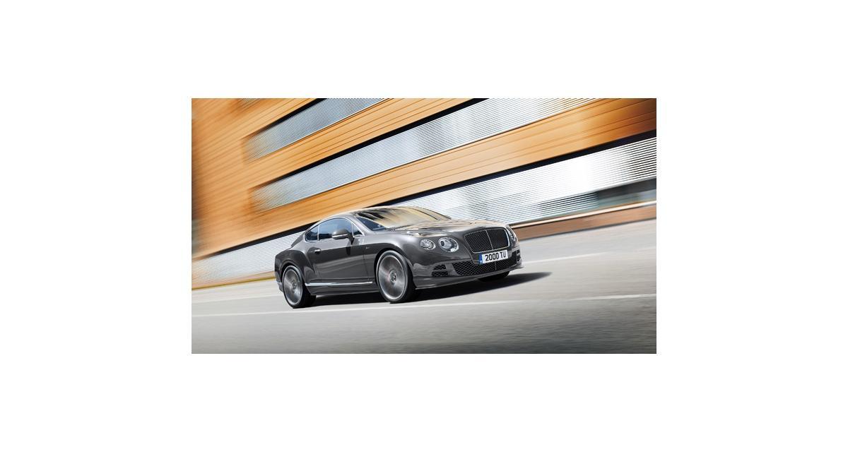 Bentley Continental GT Speed : plus de chevaux à Genève