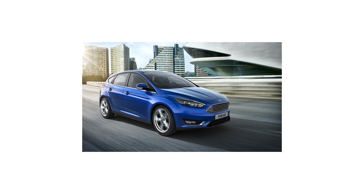 Ford Focus restylée (2014) : le plein d'élégance et de technologie