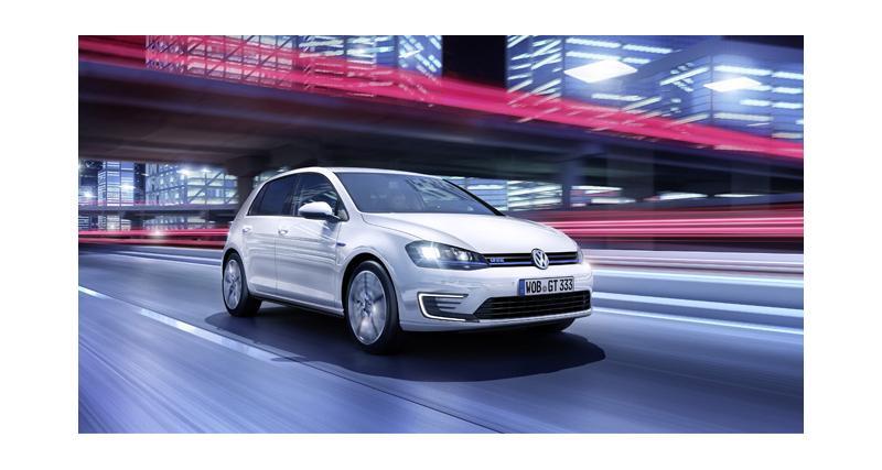 Volkswagen Golf GTE : la GTI verte