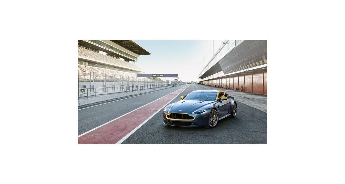 Genève 2014 : Aston Martin V8 Vantage N430