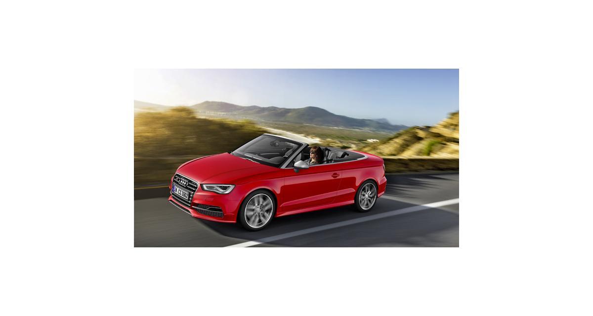 Genève 2014 : Audi S3 cabriolet