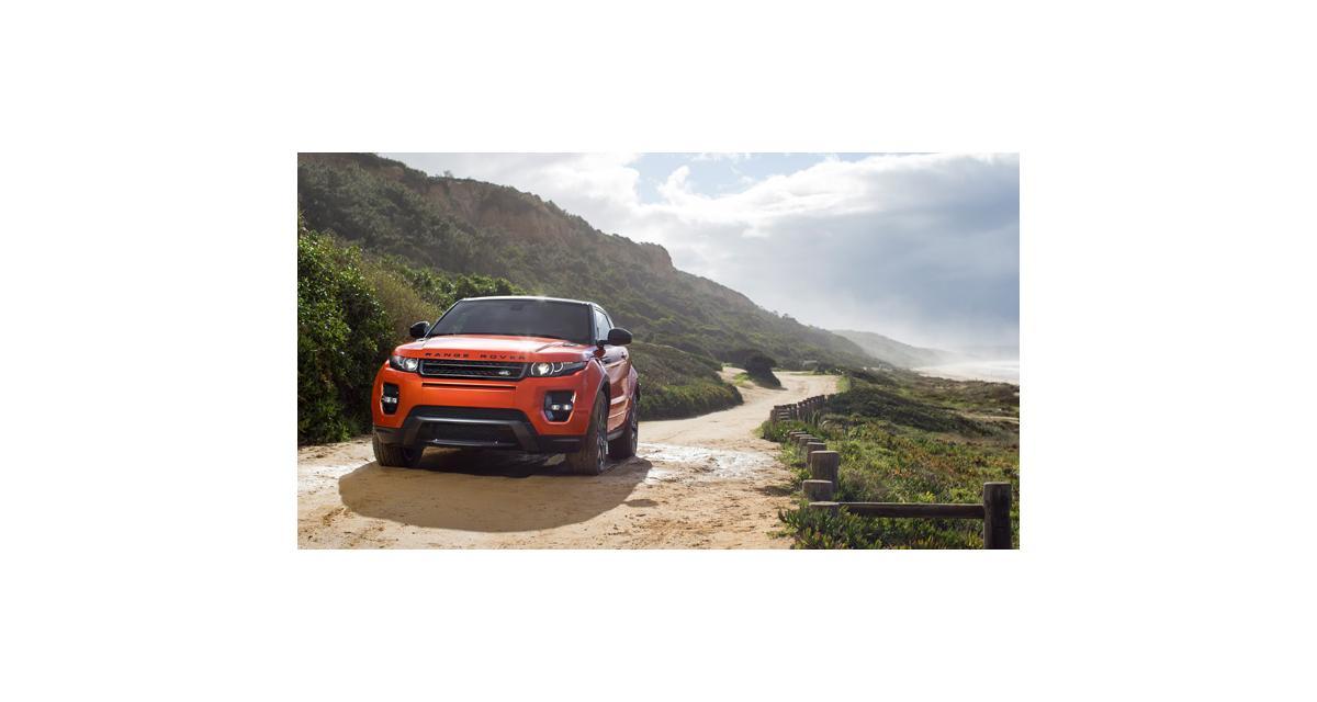 Range Rover Evoque : 285 ch à Genève