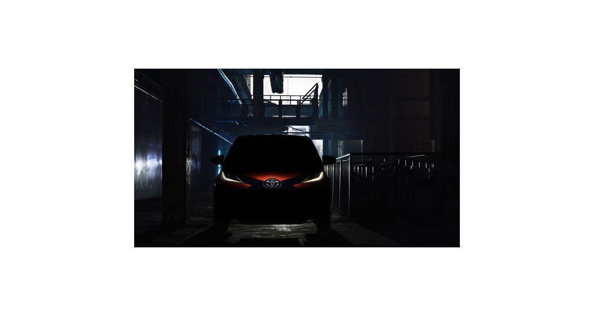 Toyota Aygo 2 : première photo, rendez-vous à Genève
