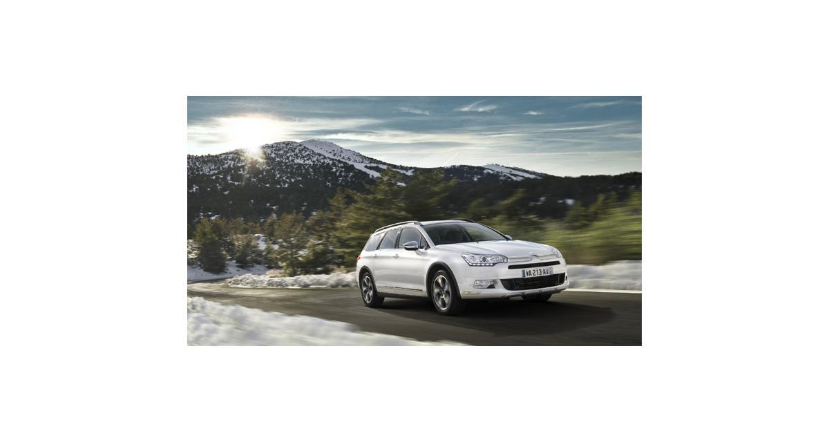 Citroën C5 CrossTourer : break des champs