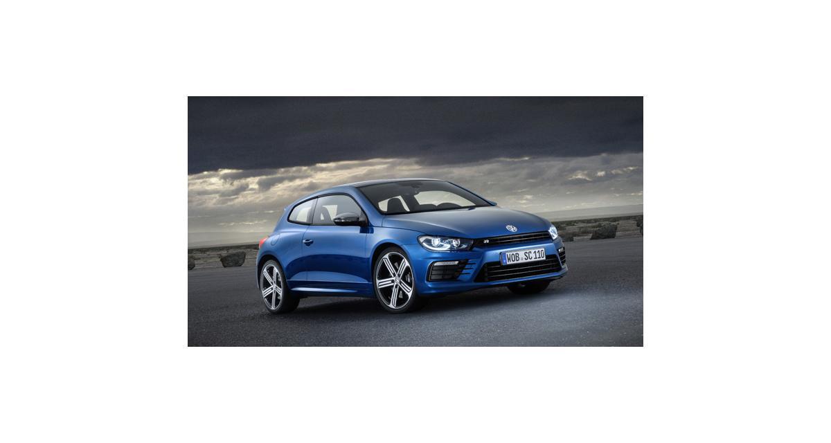 Volkswagen Scirocco : restylage léger et retour du R