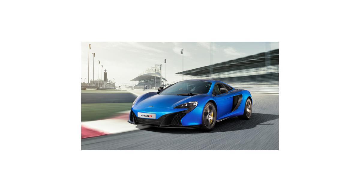 Genève 2014 : McLaren 650S