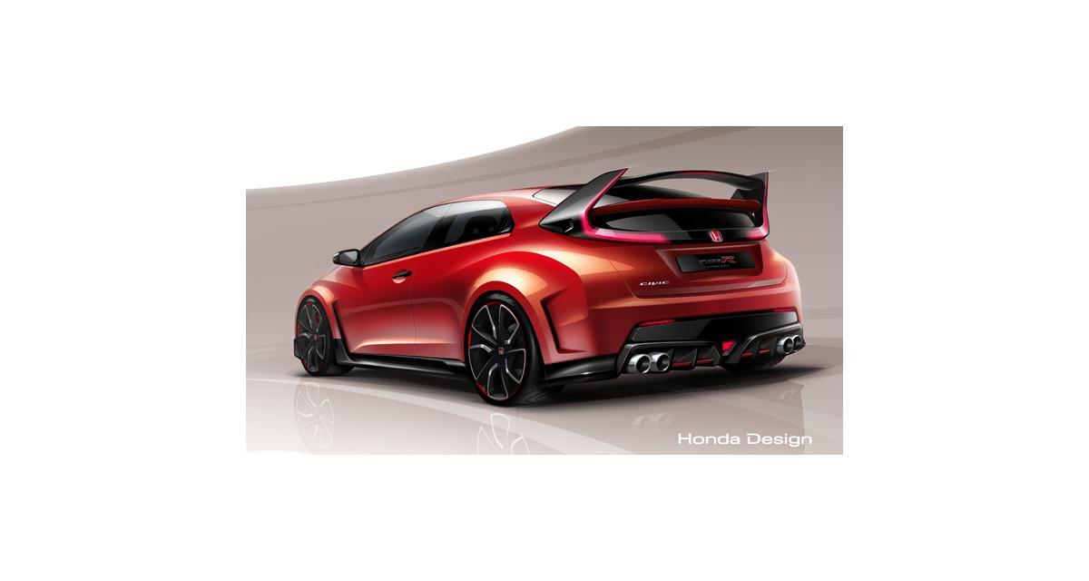 Honda Civic Type R : le concept à Genève