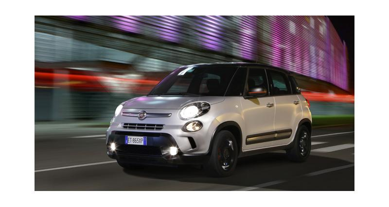 Fiat 500L : une série spéciale Beats et de nouveaux moteurs